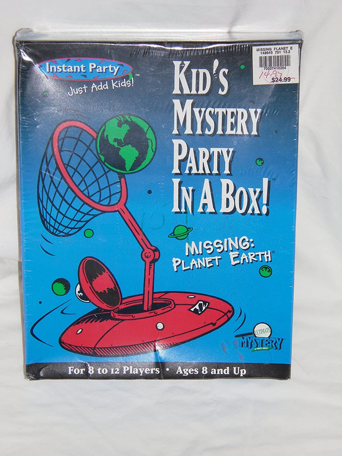 1996 Kid's Mystery Party In A Box! MISSING: PLANET EARTH B004E4DOYW