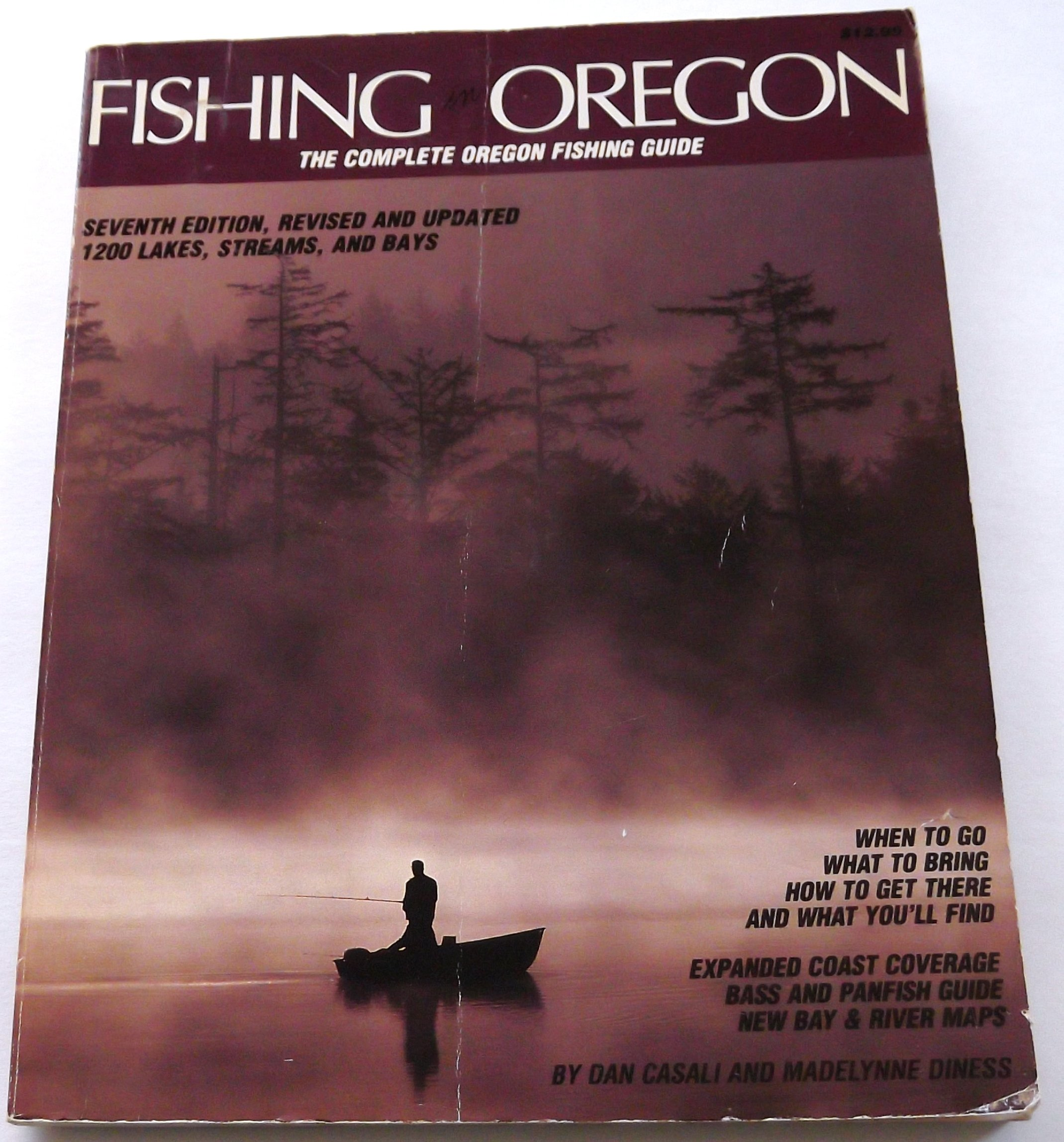 Fishing in Oregon, Sheehan,Madellynne Diness and Dan Casali