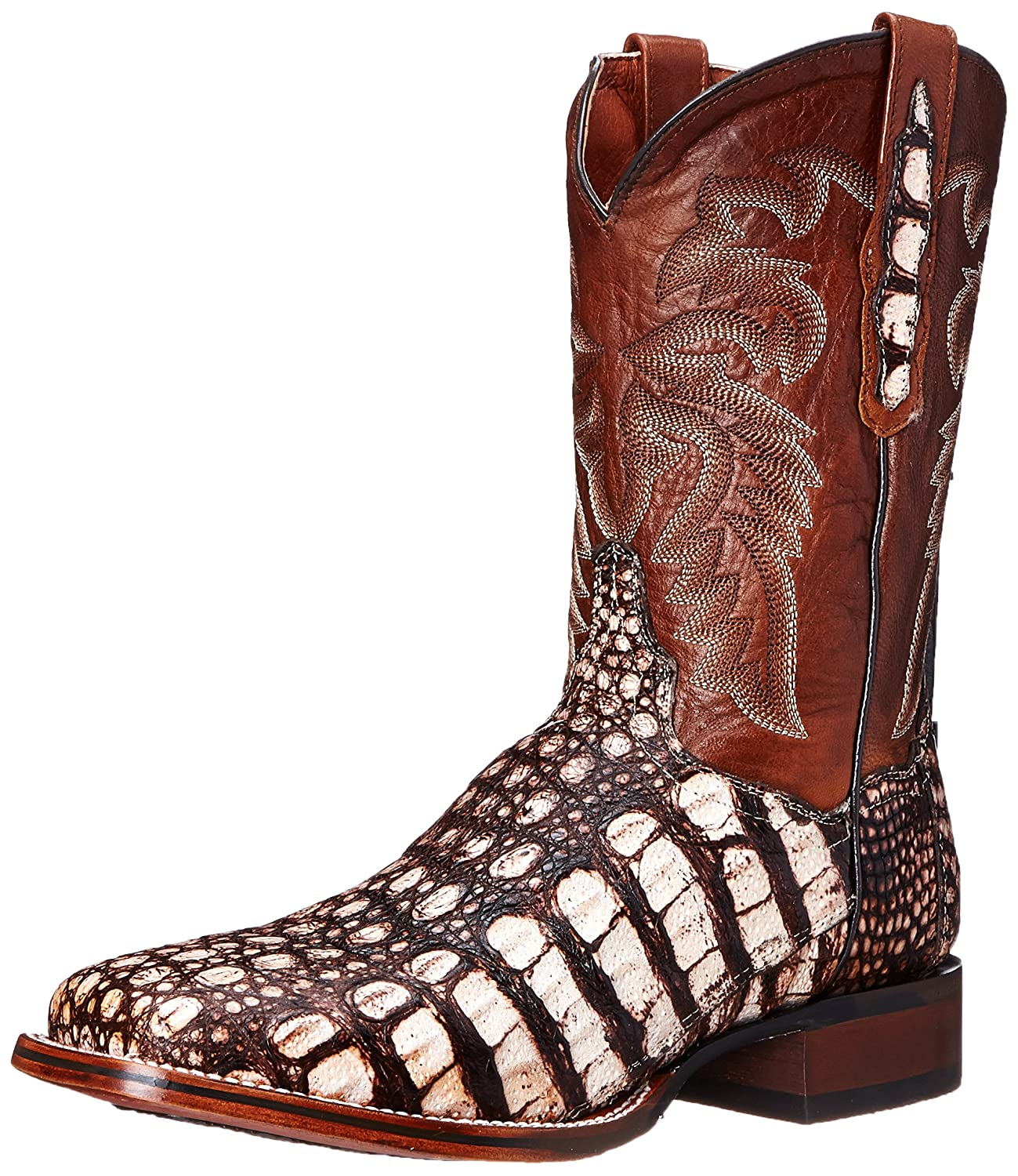 Dan Post Men's Everglades SQ Western Boot B00RIER41Y 10.5 XW US|Camel/Pecan