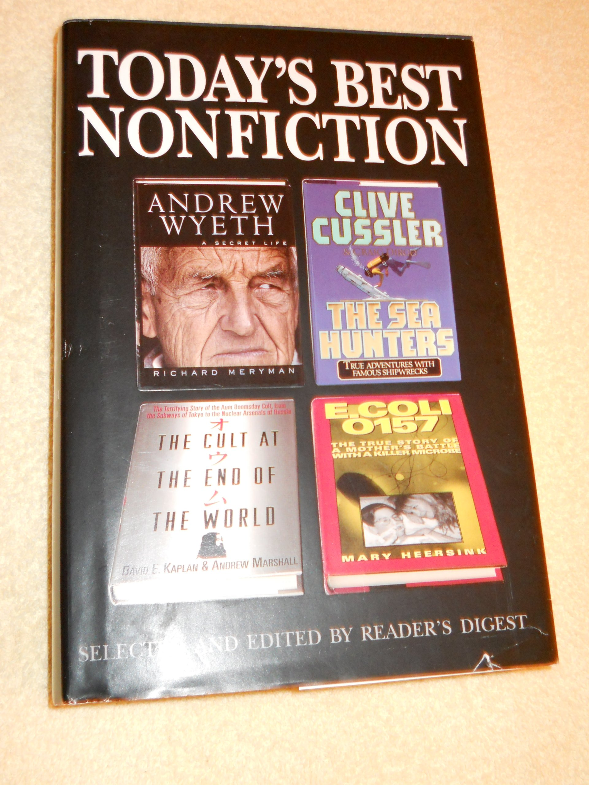 andrew wyeth a secret life the sea hunters the cult at the end of the world e coli 0157 readers digest todays best nonfiction volume 42 1997