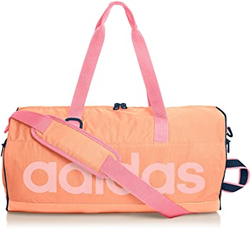 38c5357d90 adidas Linear Performance W Sac de Sport Flash Orange S15/Semi Flash Orange  S15/
