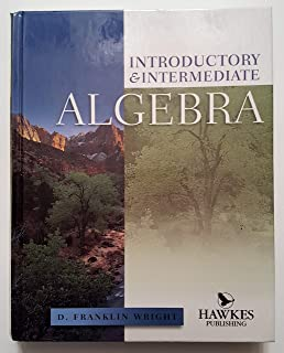 Introductory and intermediate algebra d franklin wright introductory intermediate algebra fandeluxe Images