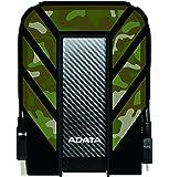 ADATA HD720–Disques Durs externes (filaire, 5–50°C, USB 3.0(3.1Gen 1) Type-A, disque dur, résistant à la poussière, résistant aux chocs, résistant à l'eau) Extérieur 2 To camouflage