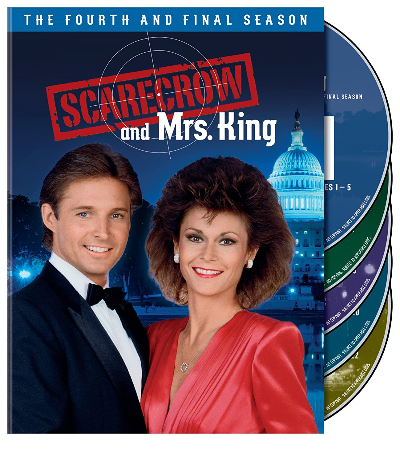 Scarecrow and Mrs. King: The Complete Fourth Season Kate Jackson Bruce Boxleitner Beverly Garland Mel Stewart