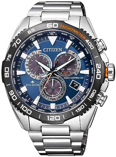quality design abfa0 400da [シチズン] 腕時計 プロマスター LANDシリーズ エコ・ドライブ電波時計 ダイレクトフライト CB5034-82L メンズ
