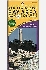 San Francisco Bay Road & Rec Map, 5th Edition Map