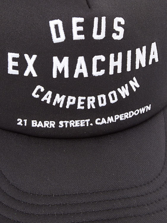 4364419e Deus Ex Machina Camperdown Address Trucker Cap Black White: Amazon.co.uk:  Clothing
