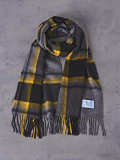 Wool Angora Scarf 1736-499-3033: Mid Grey