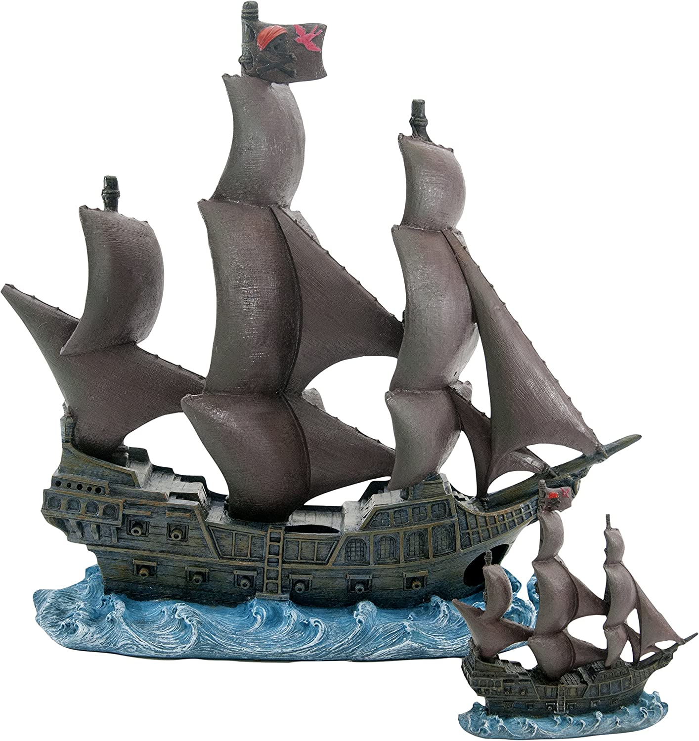 Penn Plax Officially Licensed Disney Aquarium Ornaments from Pirates of The Caribbean