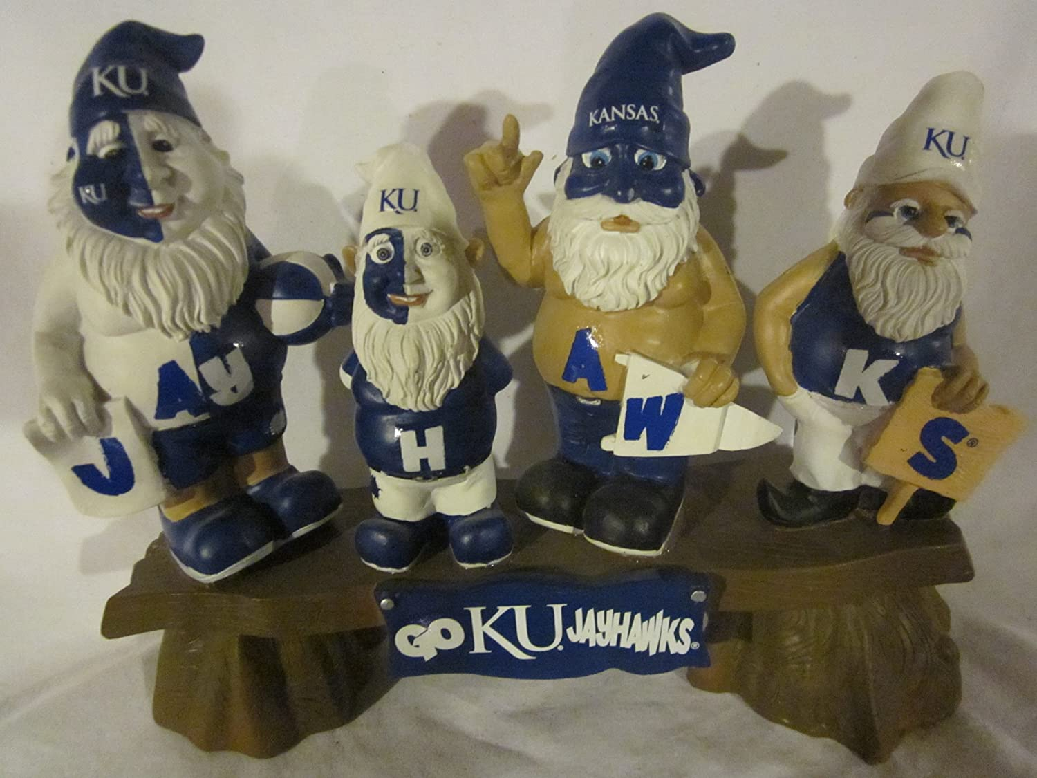 Forever Collectibles NCAA Fans On Bench Gnome