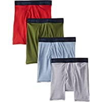 Hanes Boys' Ultimate Comfort Flex Fashion Dyed Boxer Brief