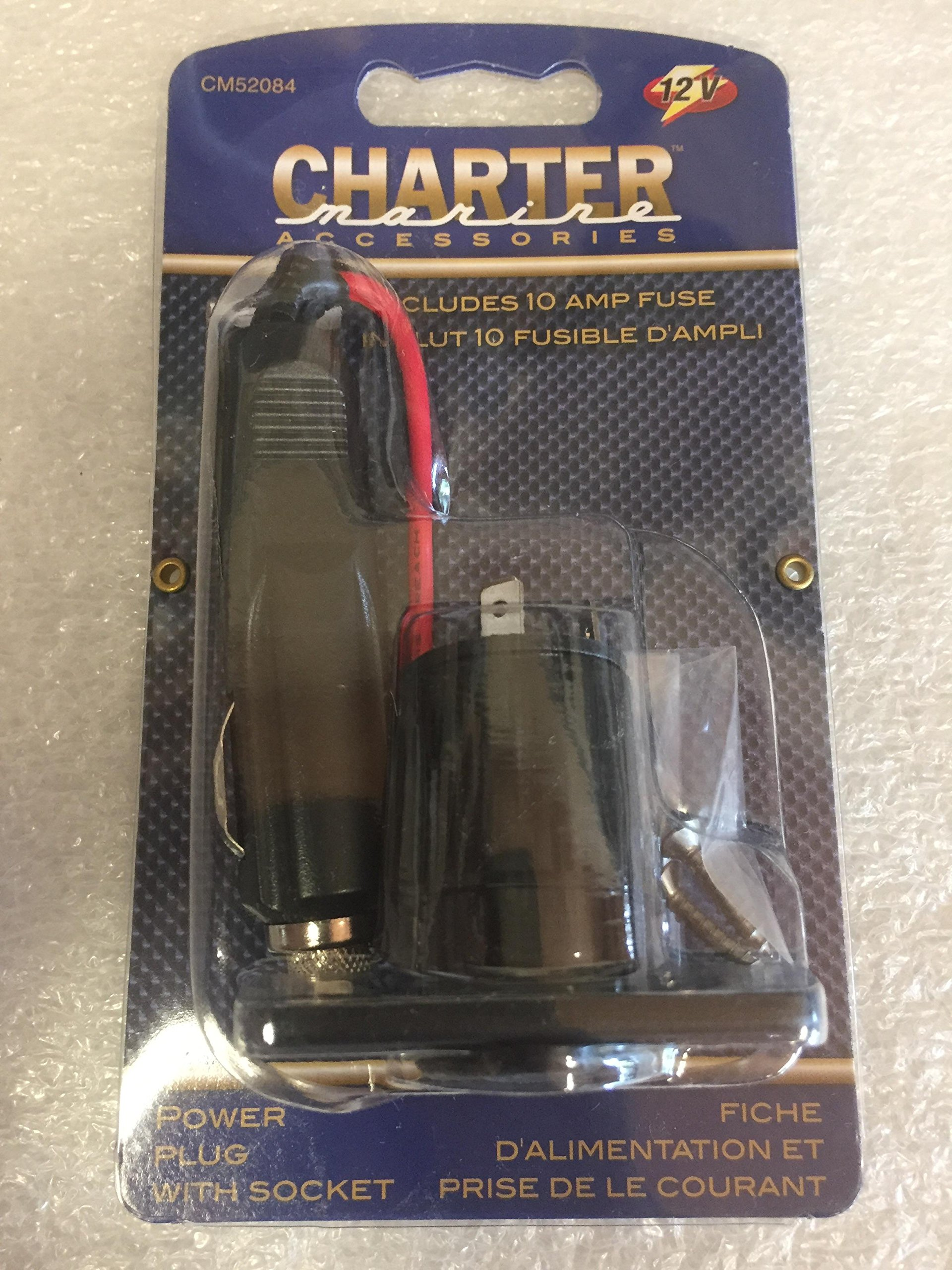 Charter Marine Power Plug With Socket CM52084