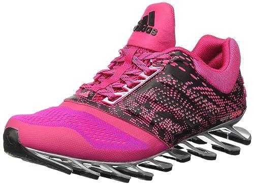 brand new 30dd9 c0550 adidas D70327 Tenis para Mujer Springblade Drive 2, color Rosa con Suela  Gris, 24.5