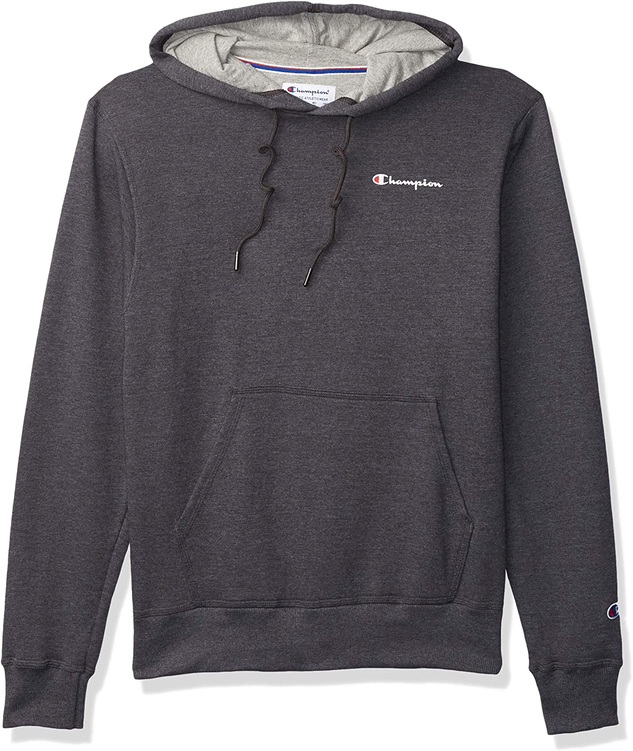 Champion Men's Powerblend Fleece Pullover Double Wholesale OFFicial store Hoodie Logo