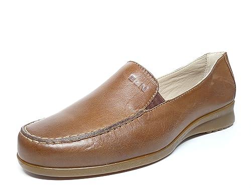 PITILLOS Zapato Casual Mujer Tipo Mocasin EN Piel Color Camel de Lamarca 100-40 (40, Camel): Amazon.es: Zapatos y complementos