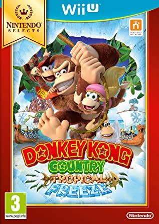 Donkey Kong Country: Tropical Freeze: Amazon.es: Videojuegos
