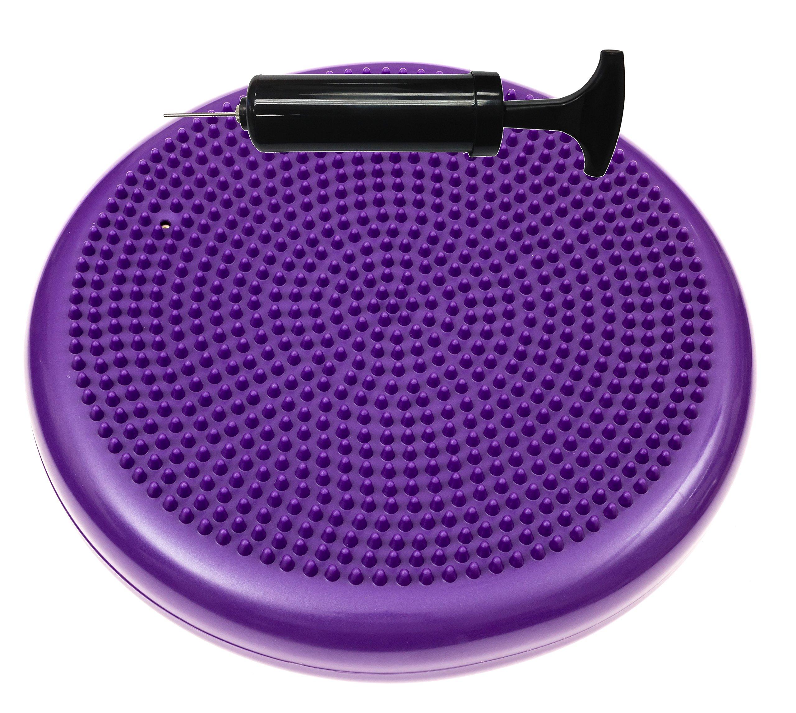 bintiva round balance disc purple 33cm by bintiva (Image #10)