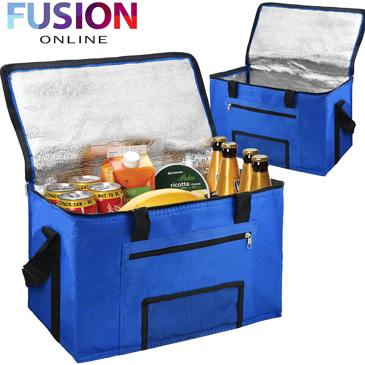 28L EXTRA LARGE COOLING COOLER COOL BAG BOX PICNIC CAMPING FOOD ICE DRINK LUNCH Evelyn Living