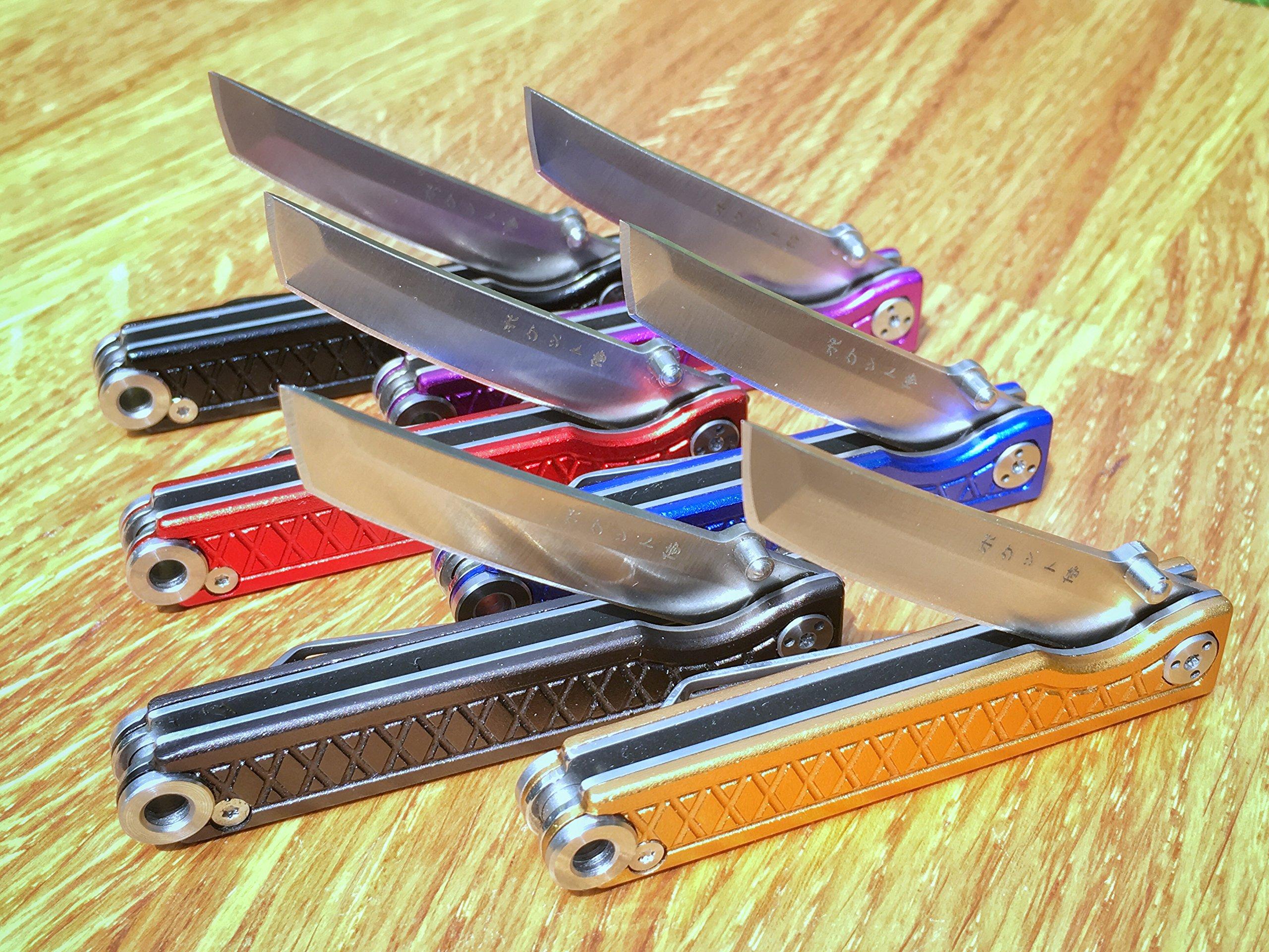 StatGear Pocket Samurai Linerlock Brnz by StatGear (Image #7)