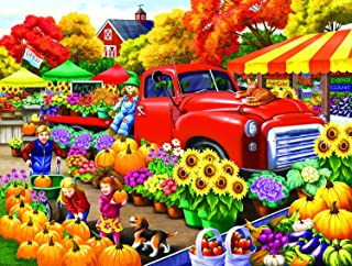 product image for Marketplace 300 pc Jigsaw Puzzle by SunsOut