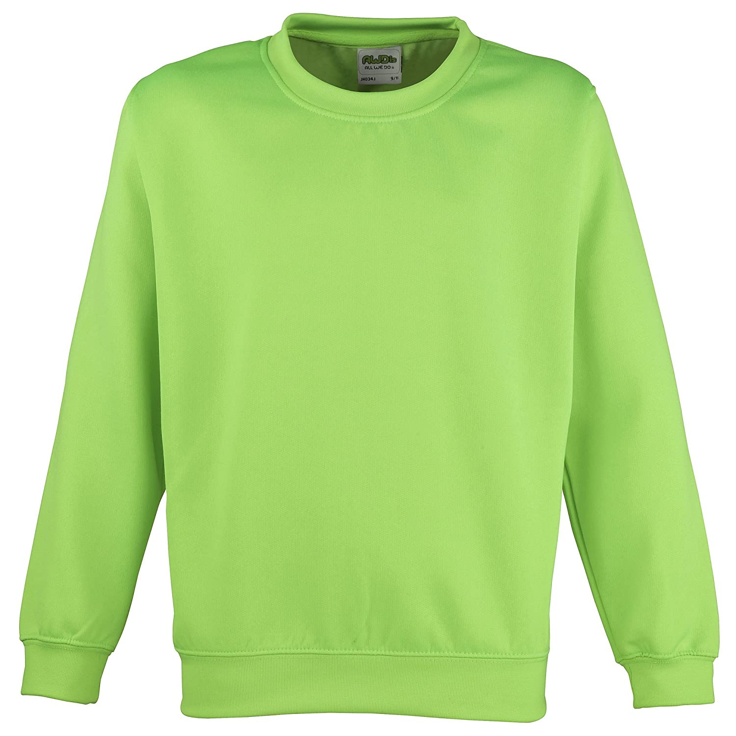 Awdis Childrens Unisex Electric Sweatshirt/Schoolwear