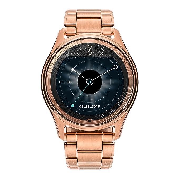 olio Smartwatch - Paquete al por Menor - Rosa de Oro Colección ...