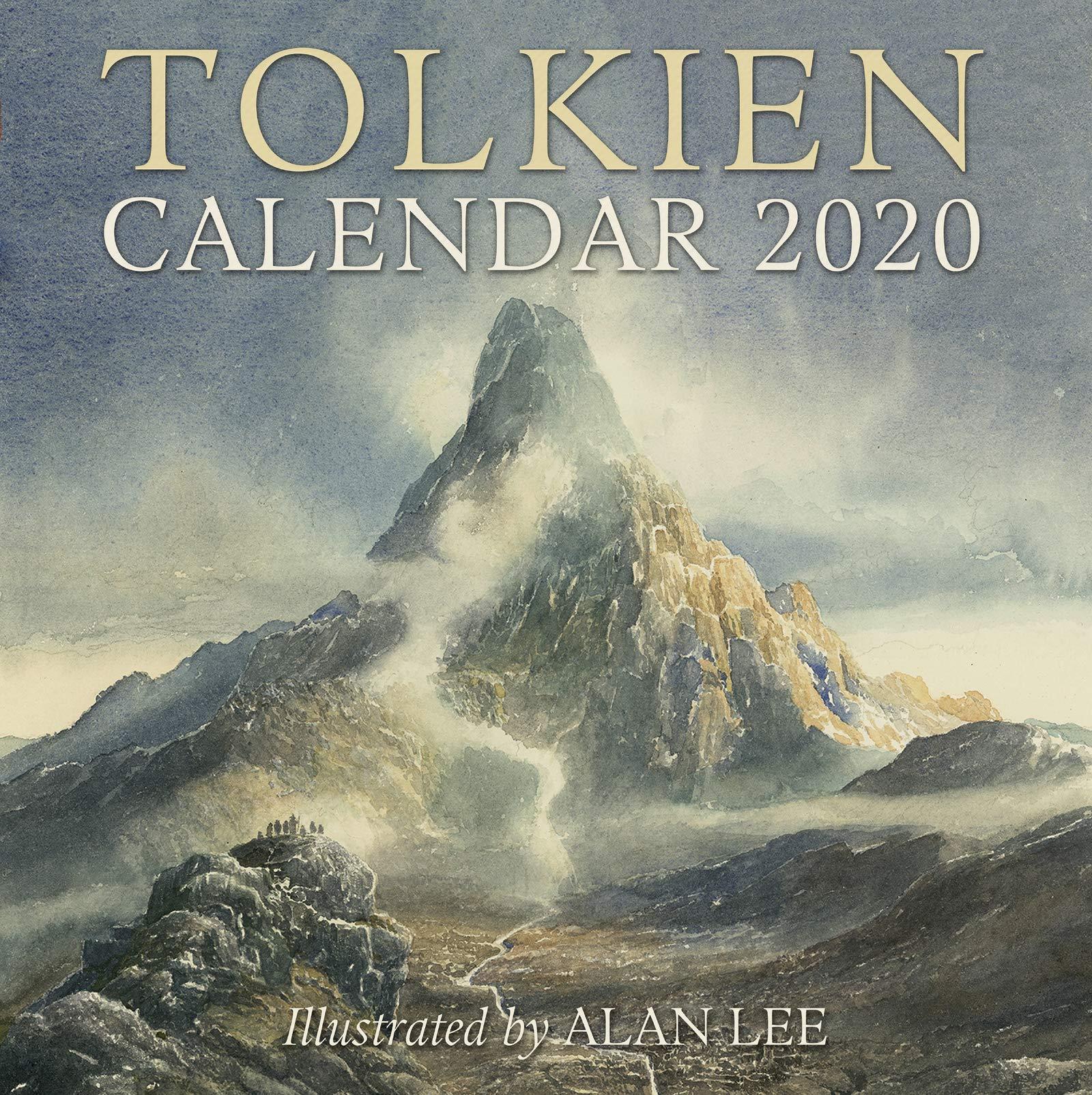 Calendrier World Tour 2020.Tolkien Calendar 2020 J R R Tolkien 9780062959768