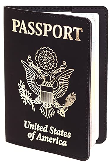 3794cfffe95b US Passport Cover - Passport Holder - Passport Case For Men Women