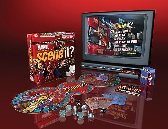 Amazon.com: Scene It? Deluxe Marvel Edition: Toys & Games