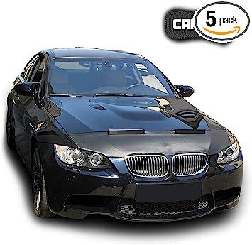 Black LeBra Front End Cover BMW 3-Series Vinyl