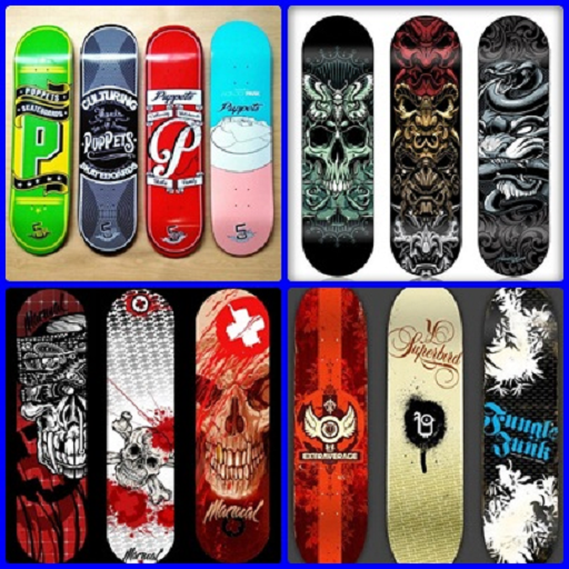 Free Skateboard Deck - Design Type Skateboard