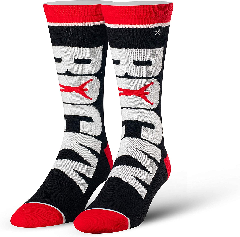 Odd Sox, Unisex, Movies, Rocky Balboa, Crew Socks, Novelty Crazy Cool Silly 80s