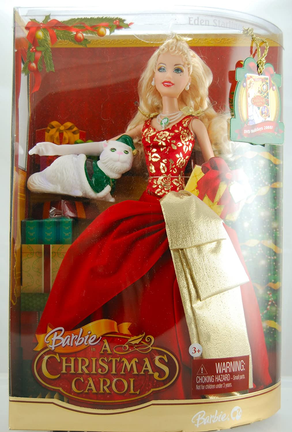 Amazon.com: Barbie - A Christmas Carol - Eden Starling Doll ...