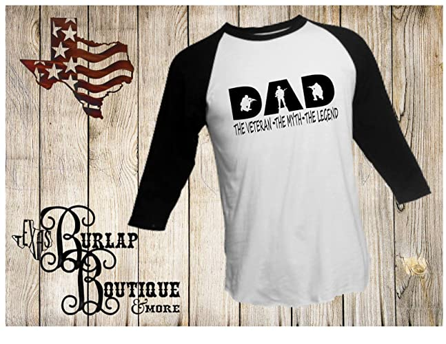 3fa96b50 Amazon.com: FATHER'S DAY Handmade DAD the veteran The Myth The ...
