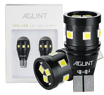 AGLINT 921 LED Bombilla Canbus Libre De Errores Non-Polarity 9-SMD 3030 Chipsets