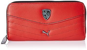 6f491f383c408 Image Unavailable. Image not available for. Colour  Puma Ferrari Rosso Corsa  Women s Wallet ...