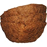 Basket Shaped Coco Fiber Replacement Liners 10 inch (3pk)