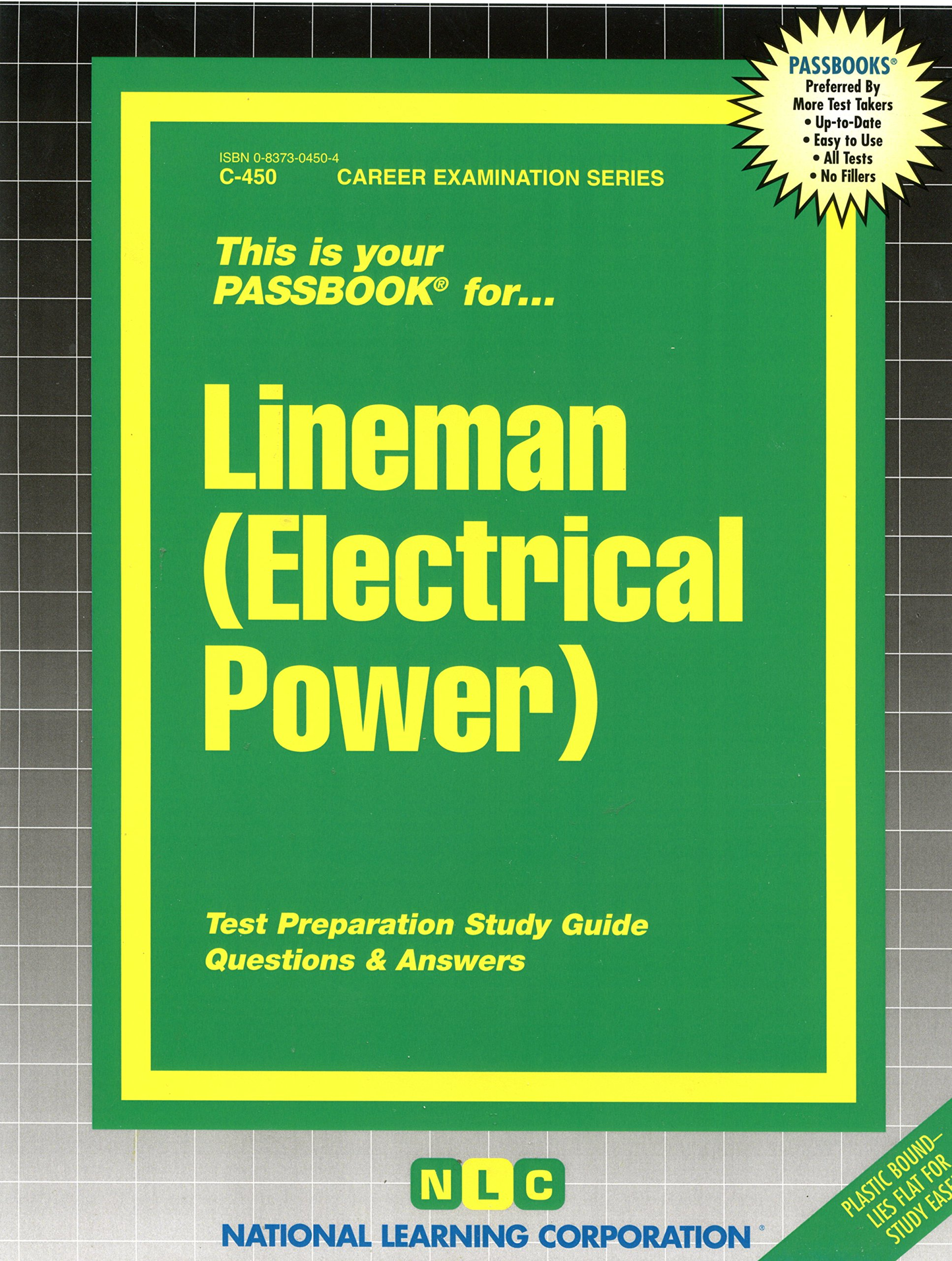 buy lineman electrical power career examination series c 450 rh amazon in Math Study Guide Texas Electrical Test Prep
