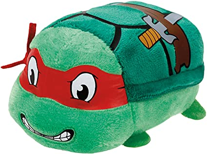 Ty - Tortugas Ninja Raphael: Máscara, 10 cm, Color Rojo (United Labels
