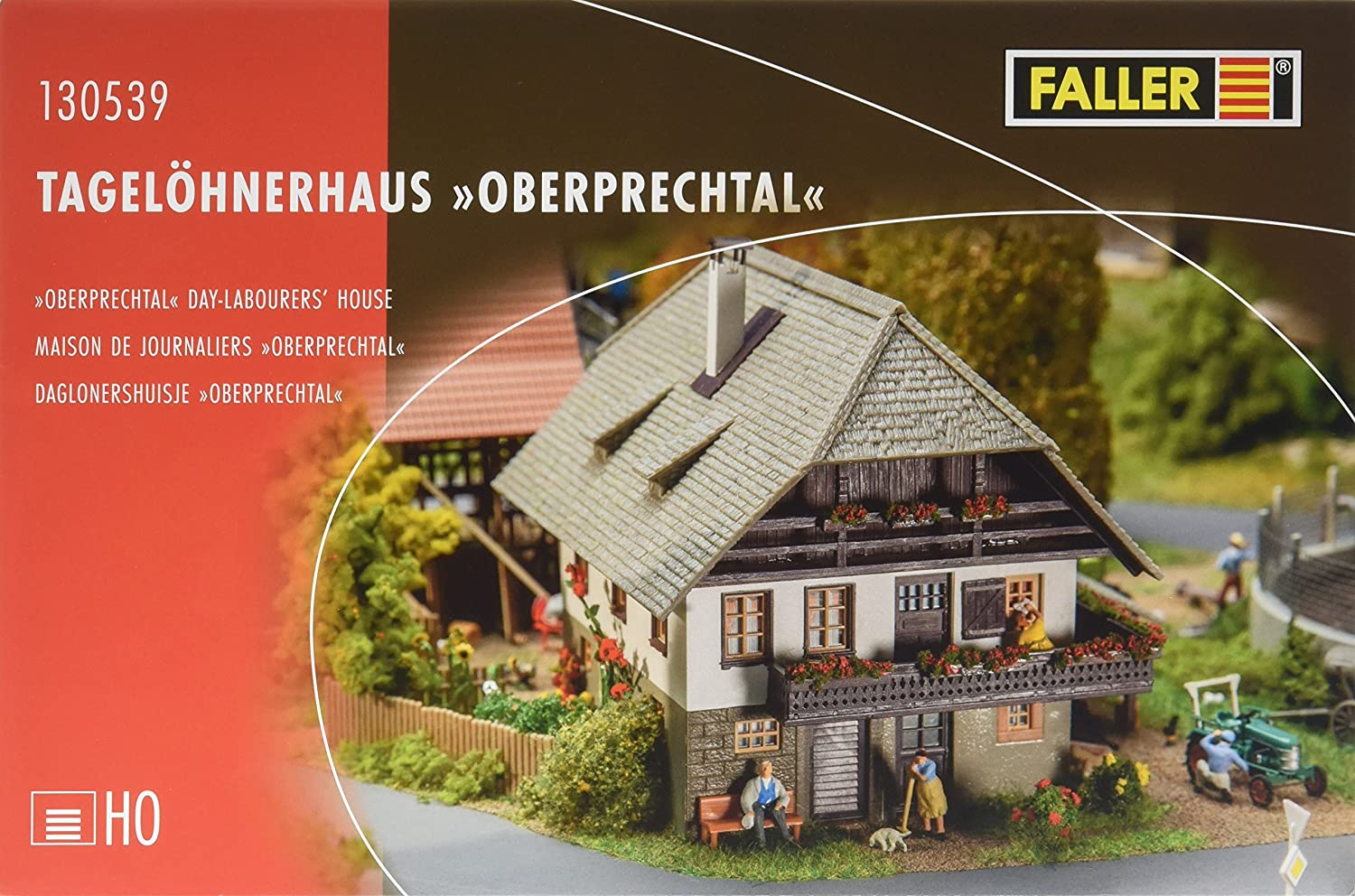 Faller 130539 Day-Labourers House Ho Maßstab Building Kit