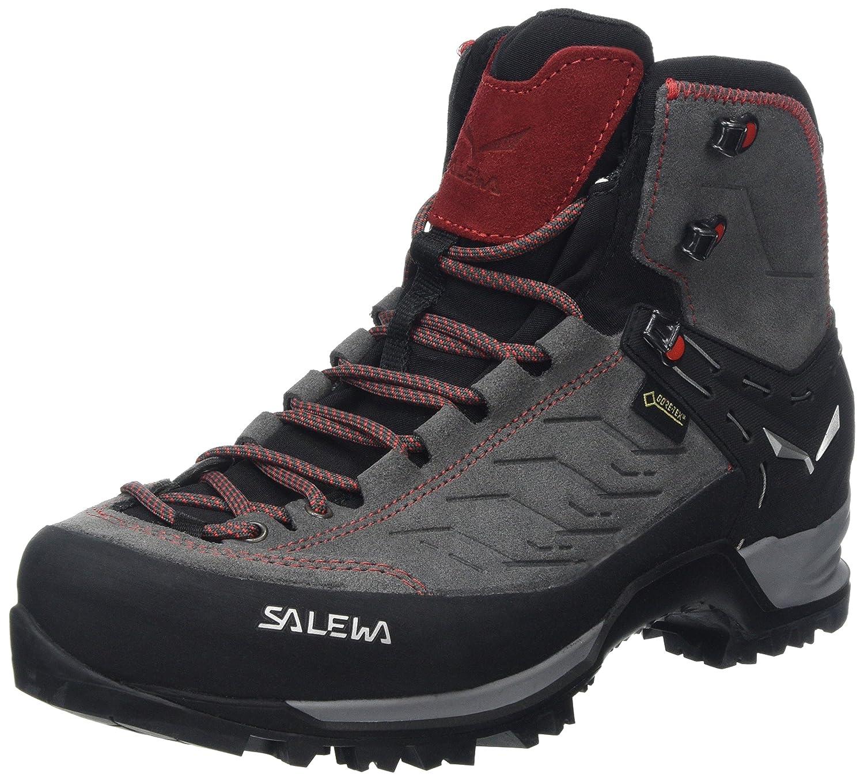 MultiCouleure (Charcoal Papavero 4720) 42 EU Salewa MTN Trainer Mid Gore-tex Bergschuh, Chaussures de Trekking et randonnée Homme