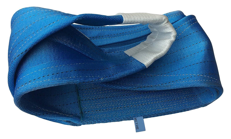 le Lef Longueur 10/m De Levage De S/écurit/é amz1022482/Polyester Plat Sangle Web 1.0t limite de charge de travail