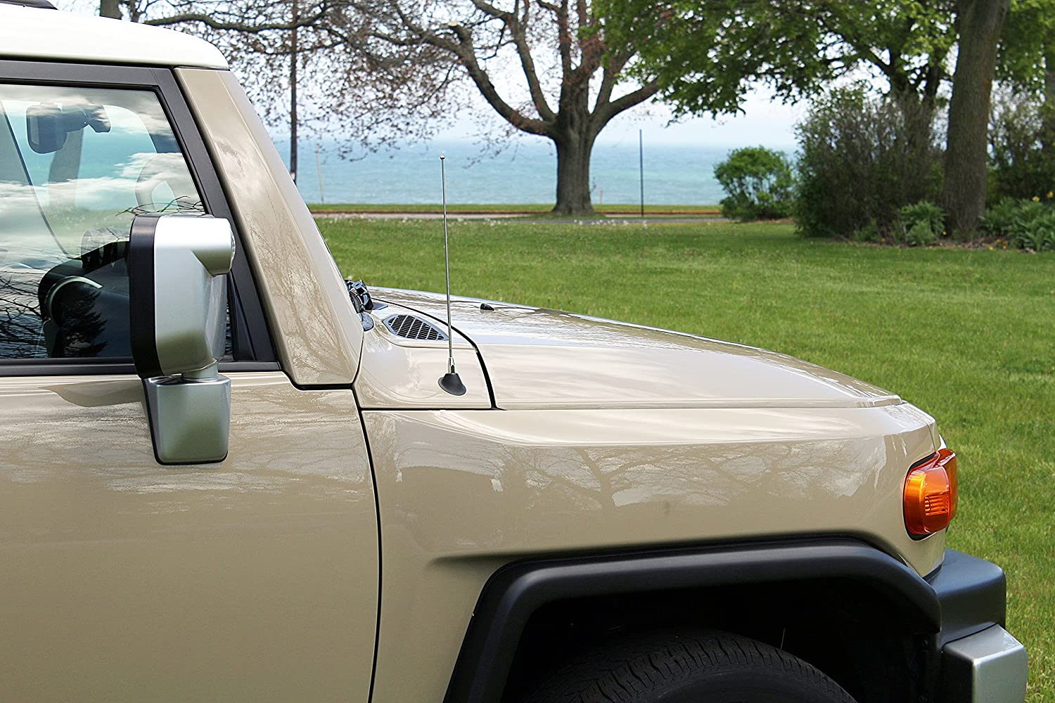 AntennaMastsRus 2006-2019 Made In USA 4 GREEN Aluminum Antenna is Compatible with GMC Sierra 3500