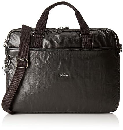 a6e96f31fd Kipling - KAITLYN - Computer bag - Metallic Blck - (Black): Amazon.co.uk:  Luggage