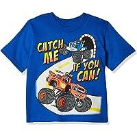Nickelodeon Blaze and The Monster Machines Toddler Boys' Short Sleeve T-Shirt Shirt, Heather Grey, 4T