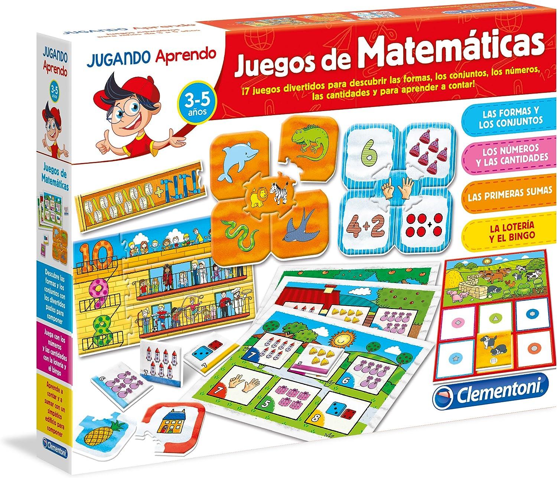 Clementoni- Juego Educativo aprende Las matemáticas, 35.1 x 25.9 x 7.1 (550180): Amazon.es: Juguetes y juegos