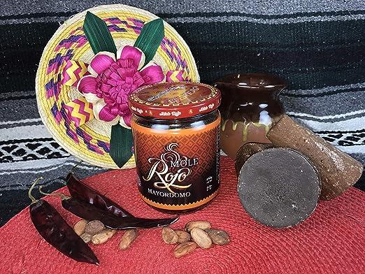 Amazon.com : Mole Rojo Mayordomo 450 gr (Red Mole) : Grocery & Gourmet Food