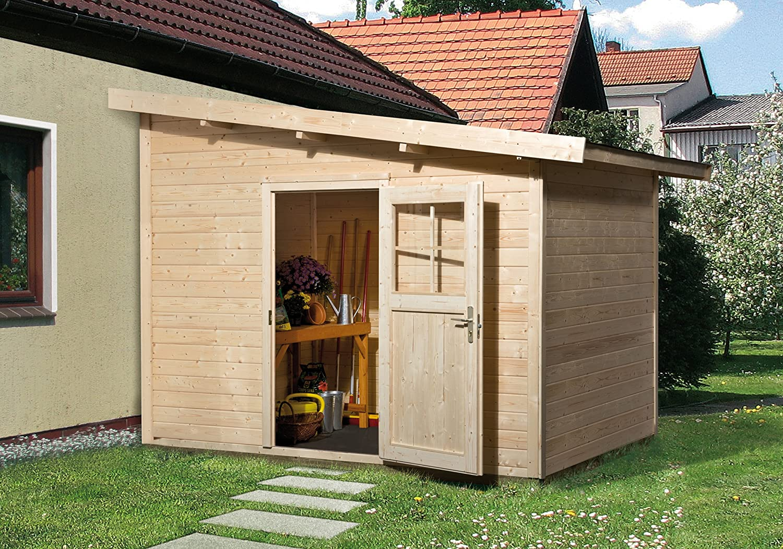 Weka Gartenhaus 260 Größe 1 28 mm