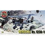 Airfix A02051 Henschel Hs123A-1 1:72 Scale Series 2 Plastic Model Kit