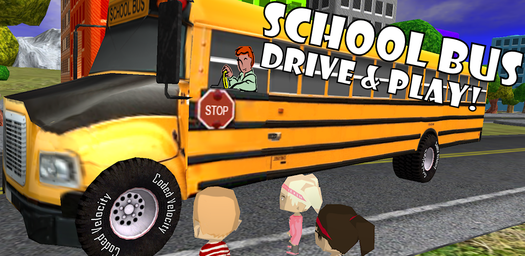 Amazon.com: School Bus Drive & Play! Toy Car Game For